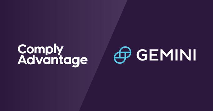 Gemini fait appel à ComplyAdvantage pour sa solution AML et de données primée HyperScale FinancialRisk