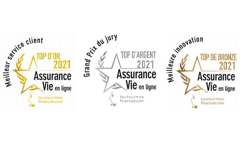 Triplé gagnant pour Nalo aux TOP 2021 de l'Assurance-vie en ligne