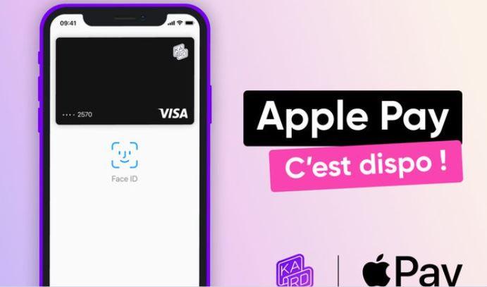 Kard, solution de paiement dédiée aux familles, propose Apple Pay à ses clients