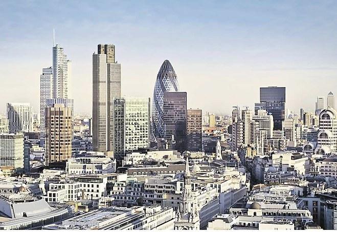 Londres fait la course en tête pour devenir la place de la « fintech » europénne. - Photo Shutterstock