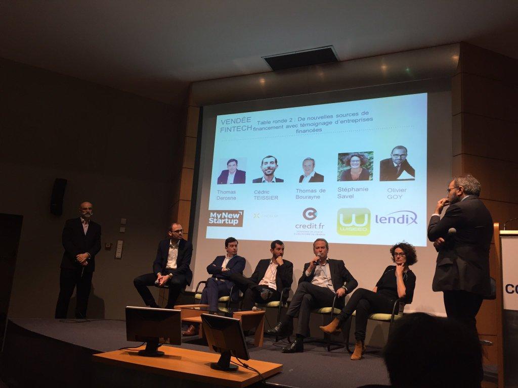 Une douzaine de patrons de sociétés fintechs présents à Vendée Fintech