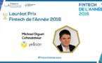 Yelloan élue « Fintech de l'année 2016 » par le Pôle FINANCE INNOVATION