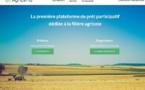 AgriLend, 1ère plateforme de prêt participatif dédiée à l'agriculture sera présente au SIA 2018