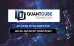 QuantCube Technology réalise une levée de fonds Series A de 5 millions de dollars auprès de Moody's Corporation et Five Capital