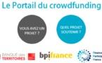 Financement Participatif France, Bpifrance et la Banque des Territoires lancent le Portail de crowdfunding pour mieux orienter les porteurs de projet