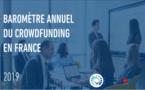 Baromètre Mazars / Financement Participatif France sur le crowdfunding en France en 2019