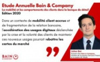 Etude annuelle Bain & Company sur la mobilité et les comportements clients dans la banque de détail en France