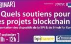 Quels soutiens pour les projets blockchain ?