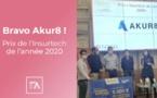 Akur8 remporte le prix Insurtech de l'année 2020