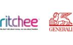 La fintech lyonnaise Ritchee lance « Ritchee Life », contrat d'assurance-vie 100% digital et clean-share, assuré par Generali Vie