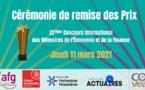 Remise des Prix du 32ème Concours International des Mémoires de l'Économie et de la Finance