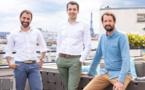 De gauche à droite : Nicolas Benady, CEO - Mathieu Breton, CTO - Nicolas Saison, COO