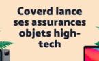 Coverd diversifie son offre en proposant l'assurance en ligne de tous les objets high-tech