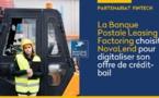 La Banque Postale s'associe à la fintech NovaLend pour digitaliser son offre de crédit-bail