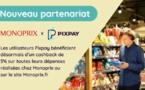 Monoprix s'associe à Pixpay, la néo-banque des familles, pour  proposer des offres exclusives à destination des jeunes