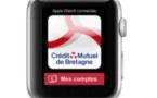 Le Crédit Mutuel Arkéa déploie une application bancaire pour les montres connectées sous Android Wear et pour l'Apple Watch