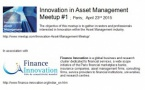Innovation in Asset Management Meetup#1