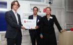 Le prix RB Innovation 2015 décerné à la société fintech Yomoni