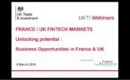 Paris-Londres : la nouvelle dynamique des Fintech