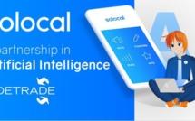 Sidetrade et Solocal signent un partenariat dans l'Intelligence Artificielle