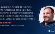 Rob Harvey nommé Chief Product Officer de Sidetrade
