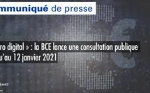 « Euro digital » : la BCE lance une consultation publique jusqu'au 12 janvier 2021