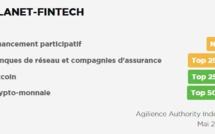 Planet-Fintech est désormais classé n°1 autorité en Crowdfunding en France par Agilience